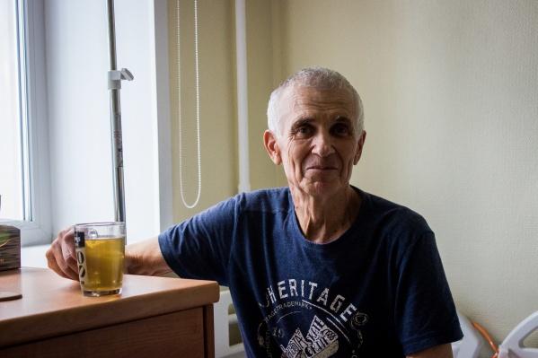 Анатолий Онищенко специально приехал из Читы на операцию в Новосибирск — лечение ему досталось по государственной квоте