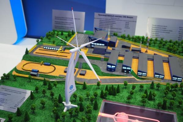 Сам проект ветрогенератора представляли на КЭФ в 2018 году