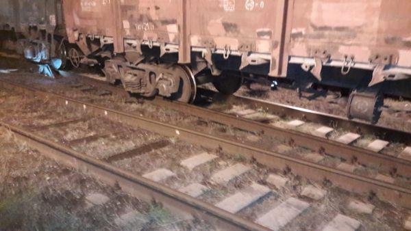 В Самарской области грузовой поезд сошел с рельсов