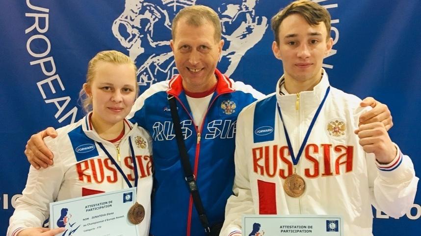 Архангельские спортсмены стали бронзовыми призёрами чемпионата Европы по французскому боксу