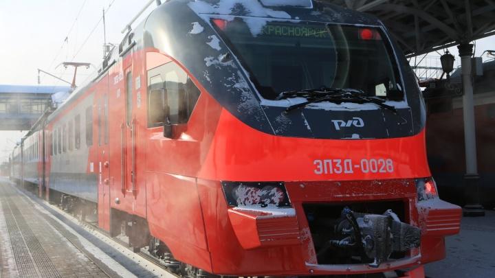 На железную дорогу закупили 6 новых электричек с кондиционерами и системой обеззараживания воздуха