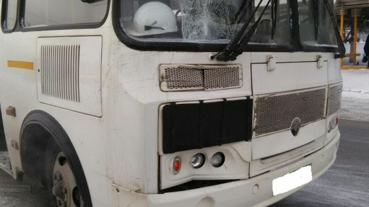В Уфе автобус сбил нетрезвого пешехода