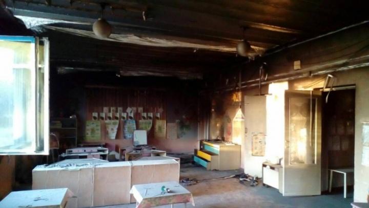 «Огонь распространялся по инфракрасным панелям»: утром в Челябинской области вспыхнул детсад