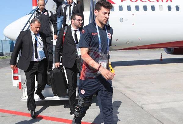 Футболисты Туниса показали первые фото из Волгограда