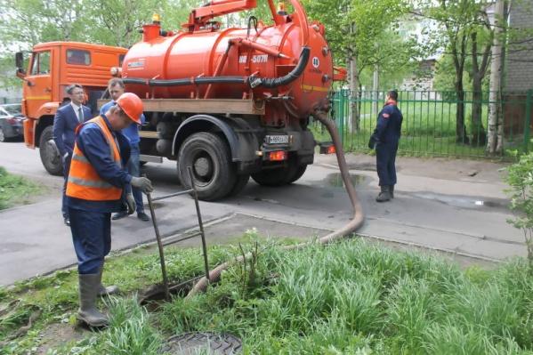 Периодические отключения воды прекратятся, когда починят водопровод