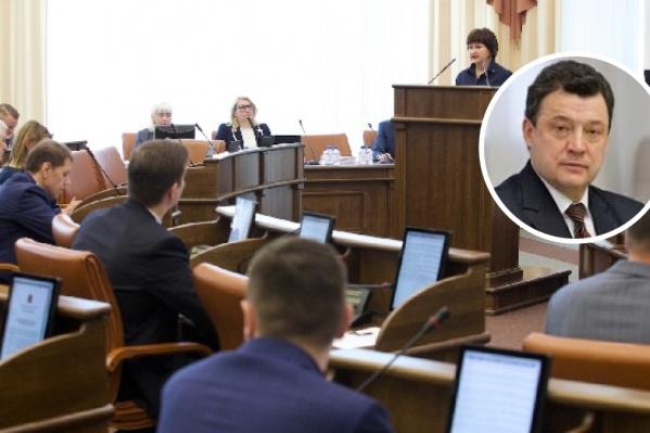 Бывший глава Красноярской железной дороги депутат Владимир Рейнгардт