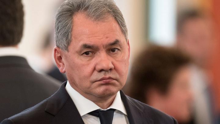 В Новосибирск прилетел Сергей Шойгу
