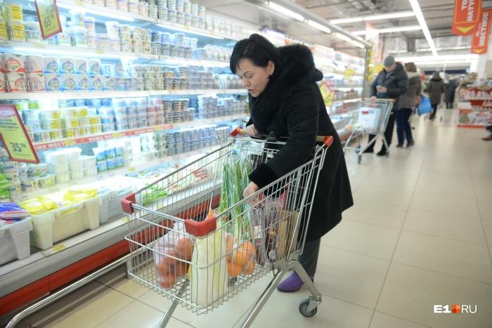 На питание одного человека уходит больше 35% от общих расходов в семейном бюджете