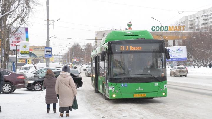 Муниципальные автобусы, дублирующие 024-й маршрут, выйдут на линию в середине недели