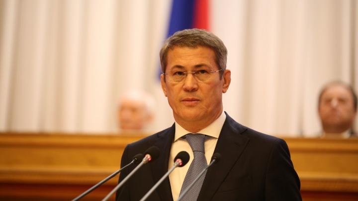 Радий Хабиров запретил чиновникам проводить корпоративы в Башкирии