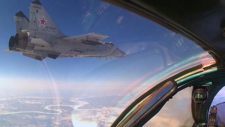 На базу в Красноярском крае доставили новейшие истребители МиГ-31БМ