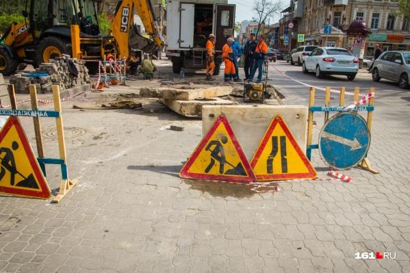 Движение ограничат из-за ремонта моста