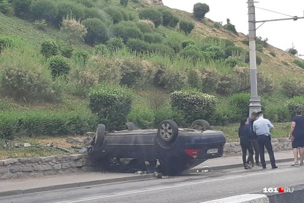 Авария произошла на проспекте Стачки