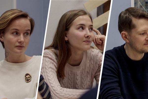 Дарья Дягелец,Екатерина Шуйская иАндрей Феденёв