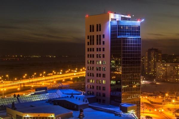Омский фотограф Сергей Брун снял Festival City с такого интересного ракурса, что и родной город не сразу узнаешь