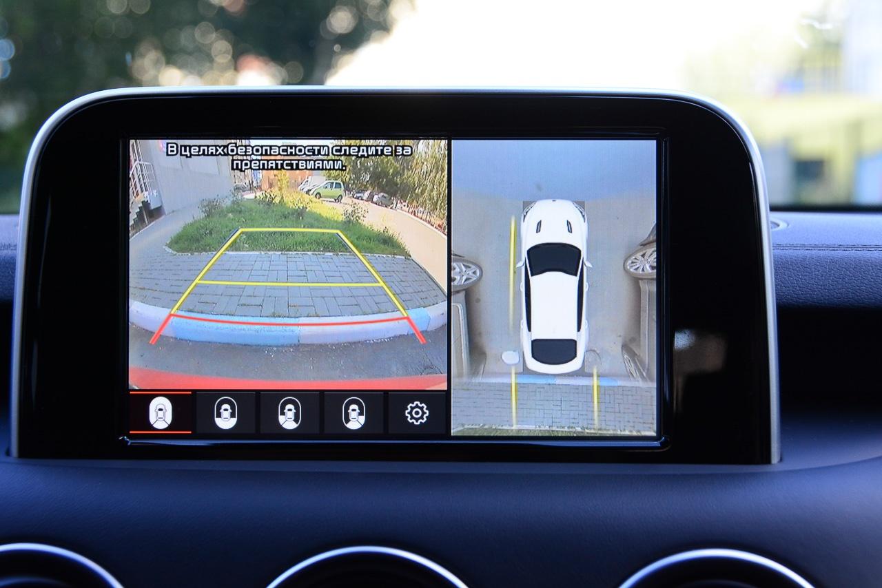 При парковке автоматически включается круговой обзор
