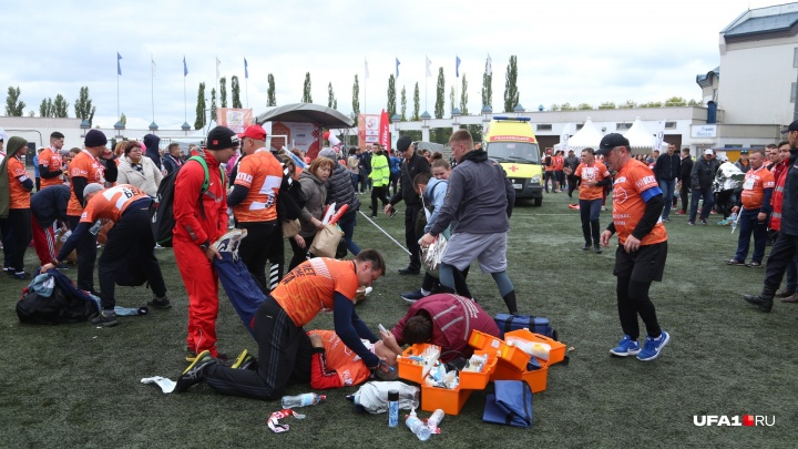 «Третий случай в моей жизни»: министр здравоохранения рассказал, как спасал марафонца