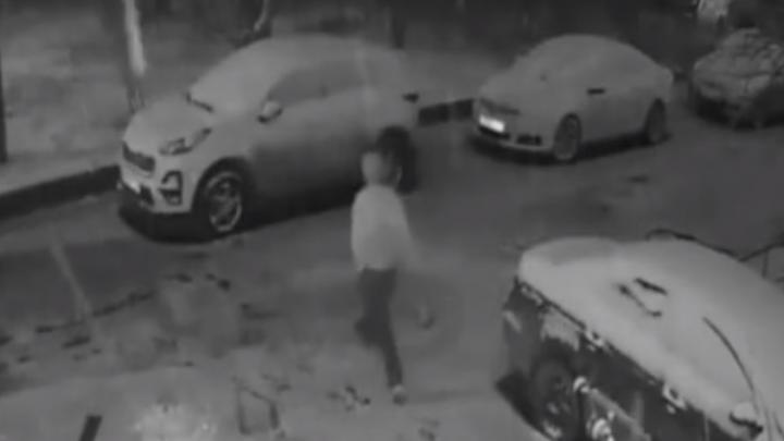 В Арзамасе среди ночи мужчина изрубилтопором дорогой автомобиль