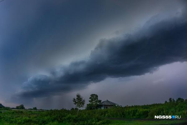 По прогнозам синоптиков, дождь пройдёт завтра ночью