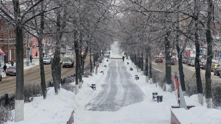 Снегопады и потепление. Рассказываем о погоде в Прикамье на неделю