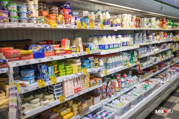 В минимальном списке продуктов для жителей Ростовской области 42 наименования