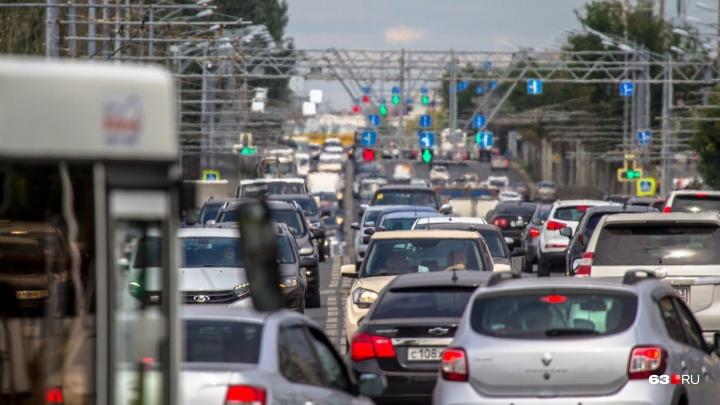 Из-за матчей «Крыльев Советов» на 5 дней перекроют Московское шоссе