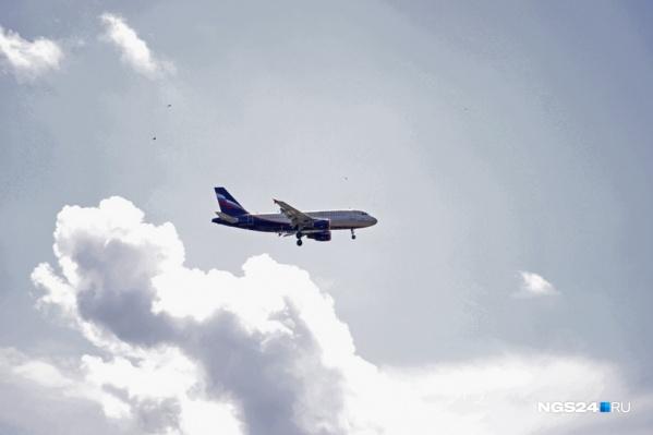 Самолёт приземлился в Норильске в 10:45
