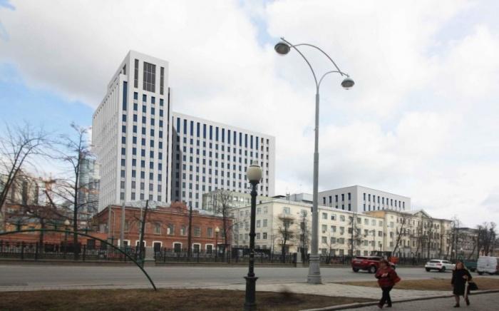 Самый высокий корпус нового здания будет составлять 17 этажей