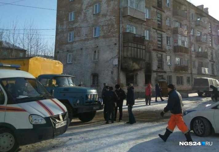 ВЗеленогорске в5-этажном жилом доме произошел взрыв газа