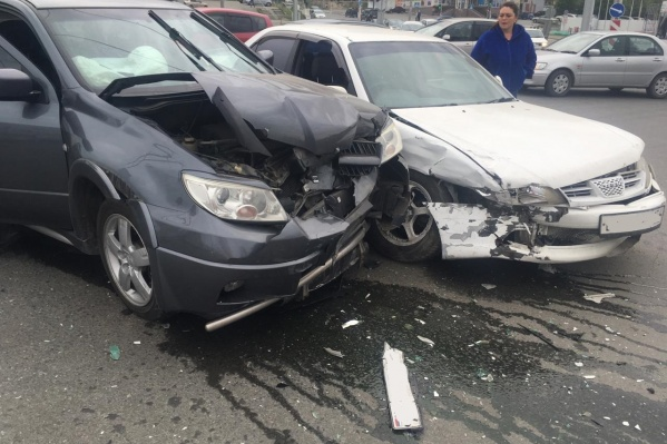 Авария случилась в 7:40
