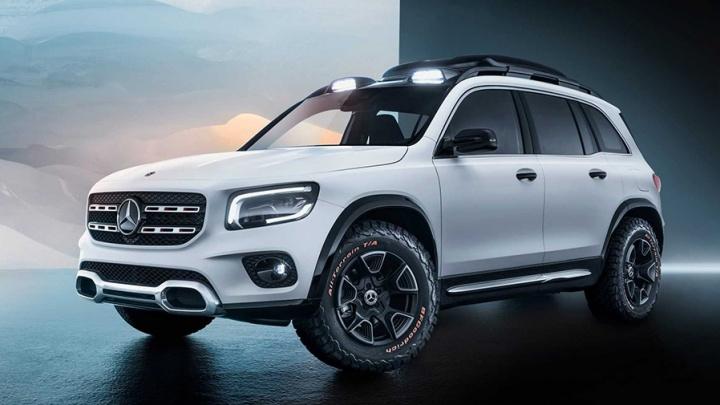 Мини-«Гелендваген» для бедных:Mercedes показал новый квадратный джип