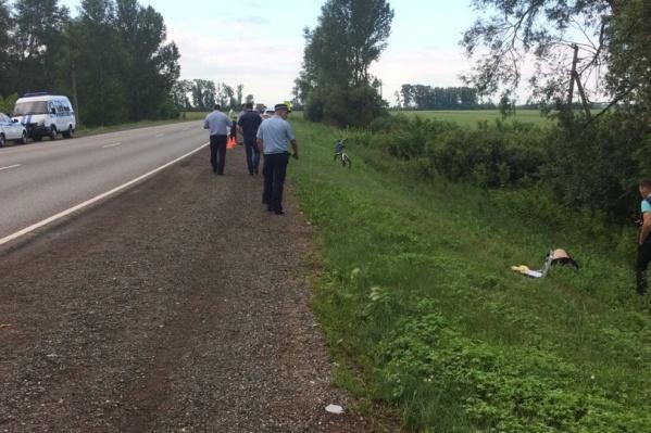 Авария произошло на трассе Уфа— Оренбург