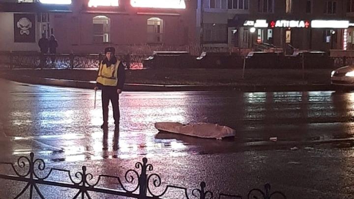 В Башкирии легковушка насмерть сбила мужчину и скрылась
