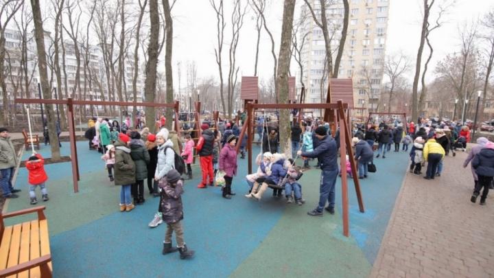В Ростове после долгой реконструкции открылся парк «Осенний»