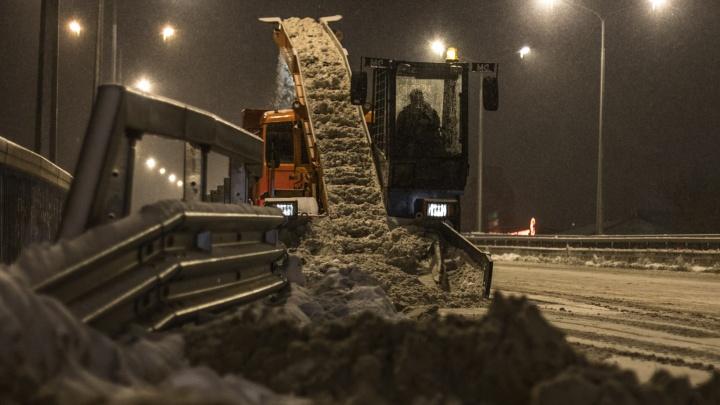 Улицы Самары пообещали убрать от снега в режиме нон-стоп