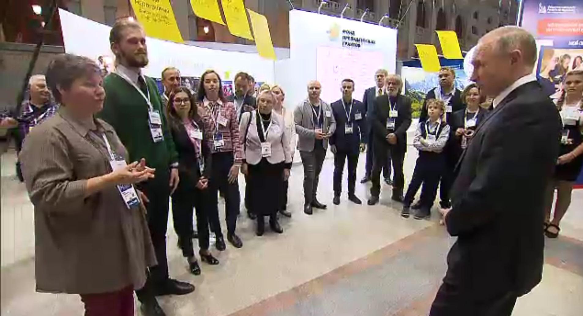 Владимир Путин похвалил проект самарцев