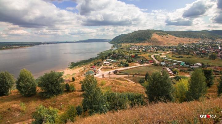 Село Ширяево собираются исключить из состава нацпарка «Самарская Лука»