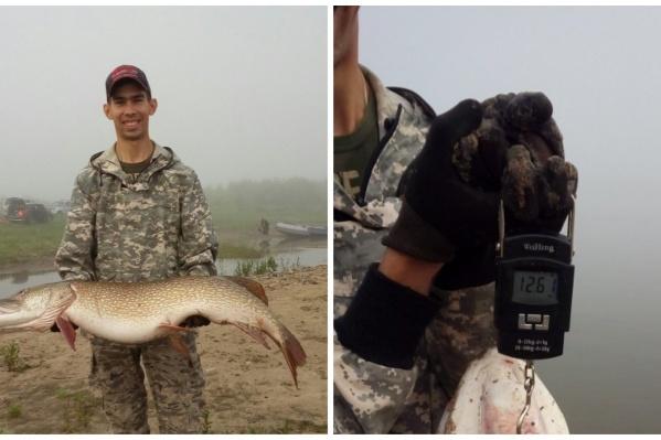 Рыбак признался, что был не готов к такому улову с первого же заброса