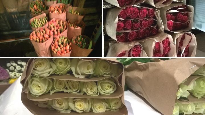Почти полтора миллиона цветов планируют продать в Тюмени на 8 Марта