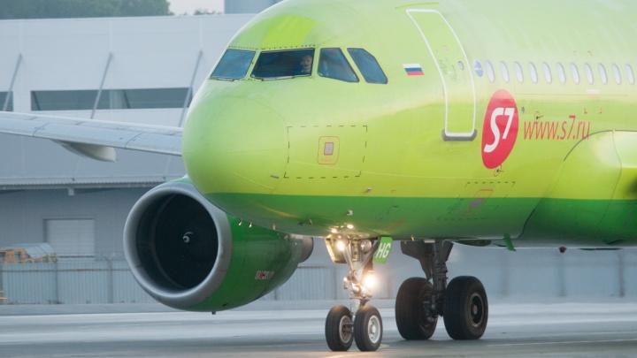 Пассажир самолёта S7, летевшего из Новосибирска в Екатеринбург, сломал зуб о сэндвич