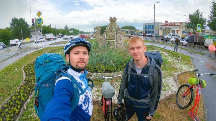 Новосибирец доехал до Москвы из Екатеринбурга на самокате