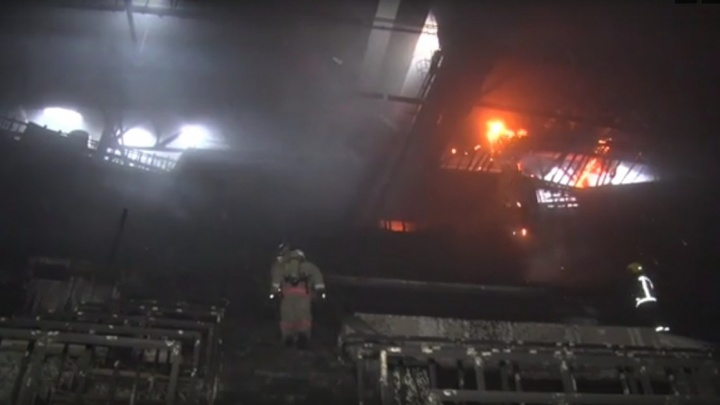 «Монолитхолдинг» получил первую выплату в 100 миллионов за ущерб при пожаре во Дворце спорта Ярыгина