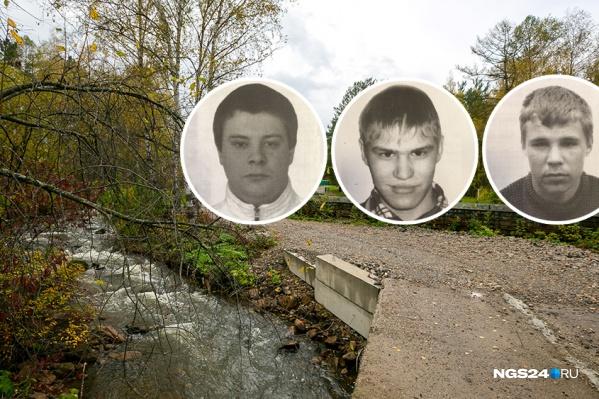 Трое парней могли просто перемахнуть через забор, пишут жители Козульки