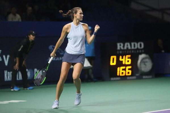 Вихлянцева одержала три победы и пробилась в основную сетку престижного турнира в Мельбурне