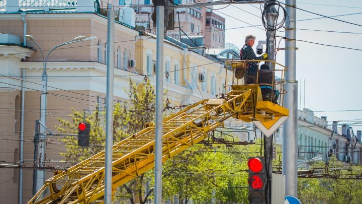 На создание новой системы освещения в Ростове потратят 395 миллионов рублей