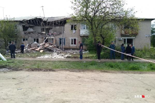 В результате взрыва погибли два человека, в том числе и ребенок