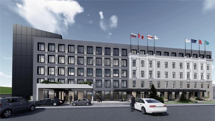 Сдержанность в решениях и стильный сценарий: архитектор — оновой гостинице у Комсомольского моста