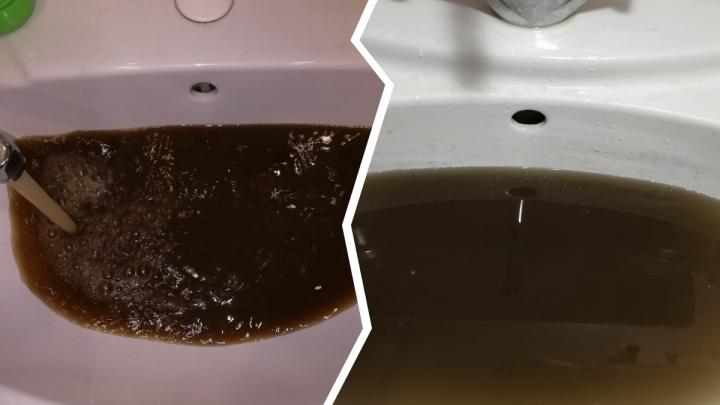 «Принимаем грязевые ванны»: ярославцы показали, какая жуткая вода течет дома из крана