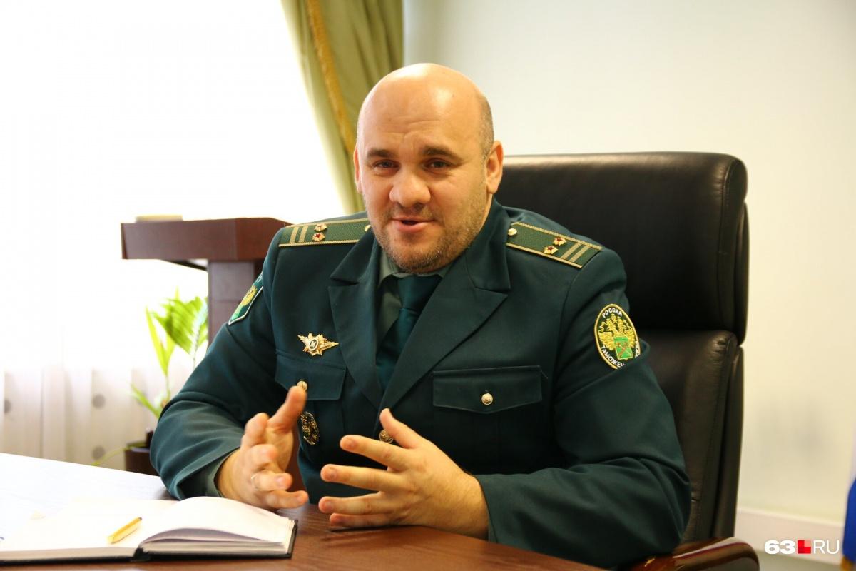 Рустам Тунтаев работает в таможне больше 17 лет