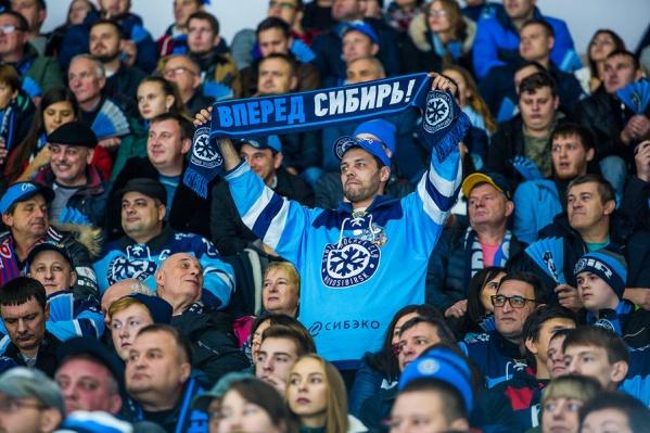 Новый сезон для «Сибири» начнётся на домашнем стадионе